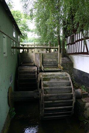 Møllehjulet på Gammelby Mølle