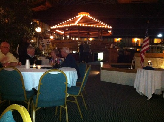 Millennium Buffalo: Banquet was enhanced with having the function in the gardens