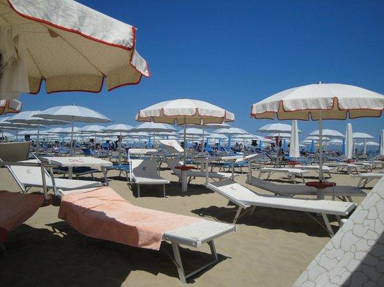 Hotel Milton Rimini, BW Premier Collection: Пляж