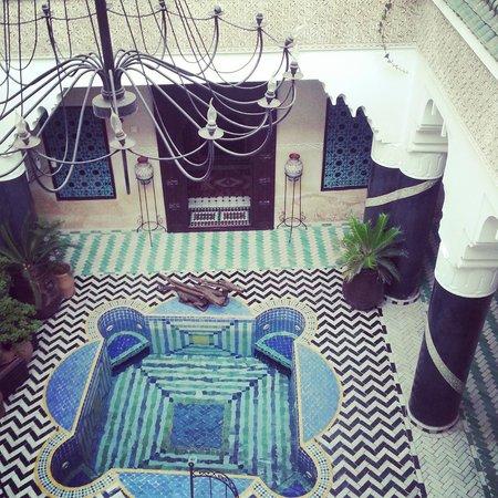 Riad El Mansour: Innenhof