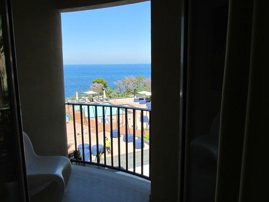 Domina Zagarella Sicily: Panorama dalla camera