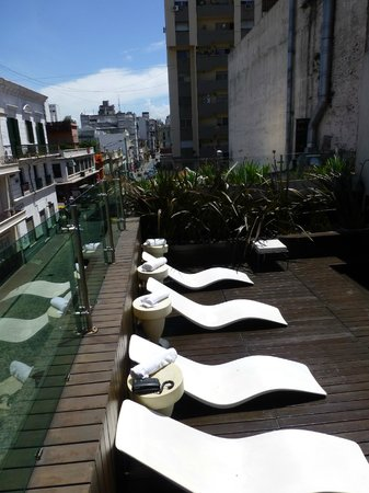 Mansion Vitraux Boutique Hotel: Roof top pool