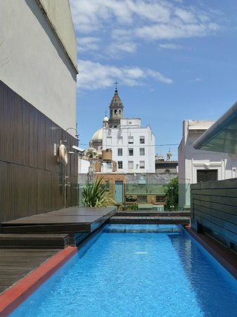 Mansion Vitraux Boutique Hotel : Beautiful views from rooftop pool