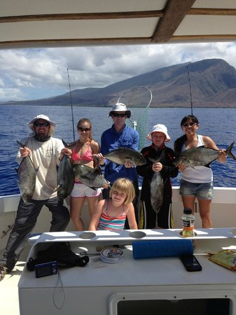 Maui Fun Charters: Catching all the fishes