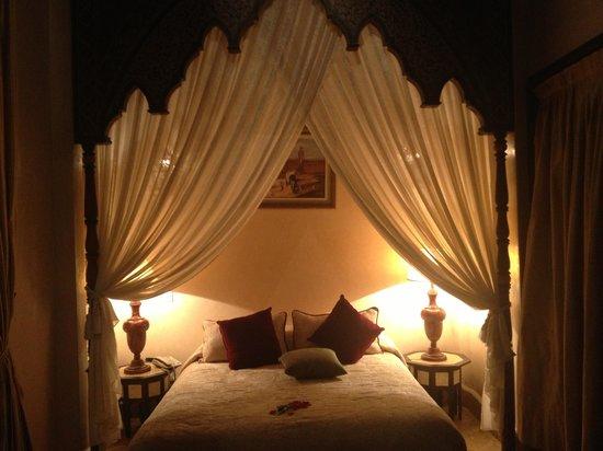 Riad Kniza: Bedroom