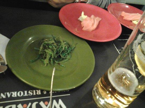 Wasabi Sushi and Wok Restaurant : piatti