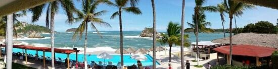 Dreams Huatulco Resort & Spa: excelente vista
