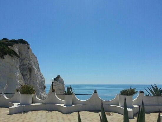 Hotel Falcone: terrazza hotel