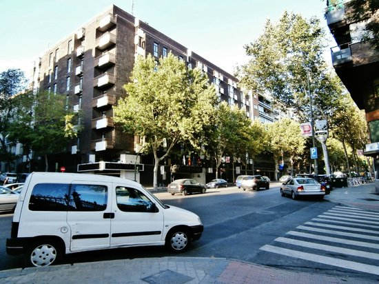 View Of The City Picture Of Hotel Agumar Madrid