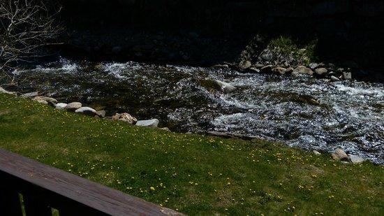 Deu Sol : Toma desde el  deck del río Incles