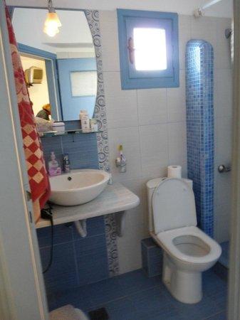 Stelios Place: notre propette salle de bain
