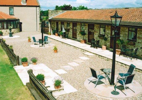 Ewden House: Court Yard