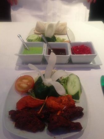 The Spice Lounge: mixed kebab yum ���� x
