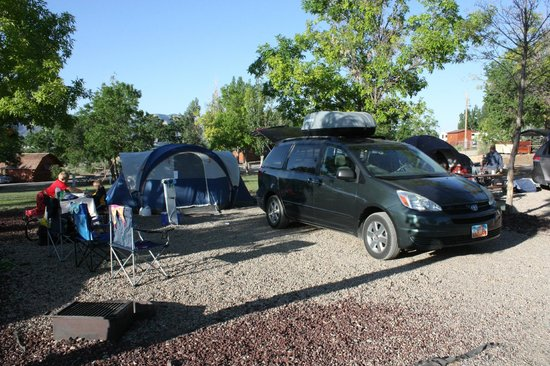 Cortez/Mesa Verde KOA: The whole campsite