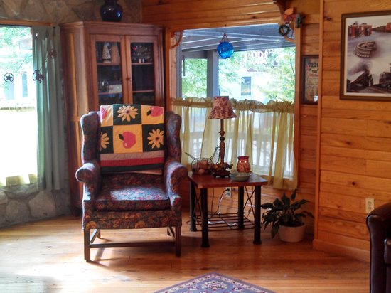 Matewan, WV: sitting room on first floor