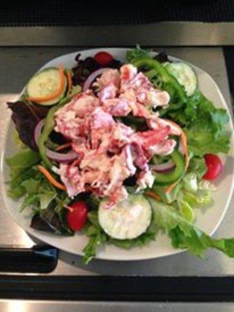 Forest Falls Cafe: Lobster Salad & Lobster Rolls