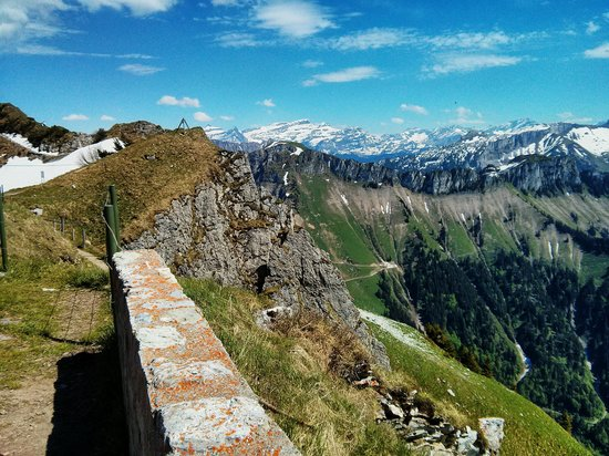 Rochers-de-Naye: View from the top of the mountain
