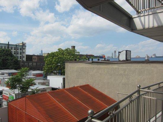 Hotel Le Bleu: Manhattan view?