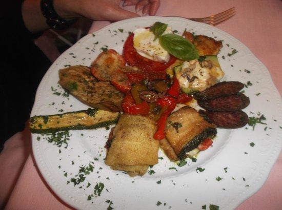 La Capannina: anti pasti misto
