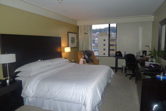 Sheraton Quito: King room on SPG floor