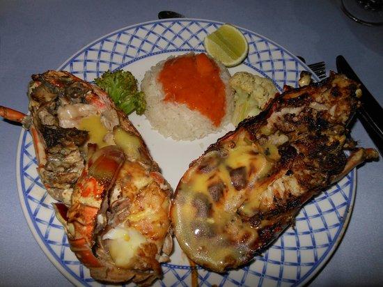 Majestic Colonial Punta Cana: mmmmm langostaaaaa!!!!