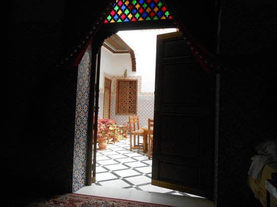 Dar Ahl Tadla: View of the main room.