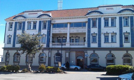Grosvenor Hotel frontage