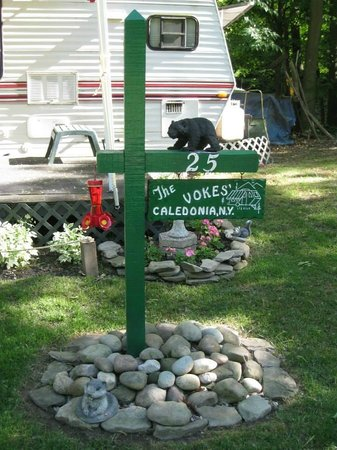 Sugar Creek Glen Campground: OUR TRAILER...