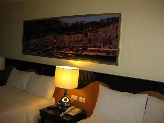 Hotel Elizabeth Cebu : ツインルーム