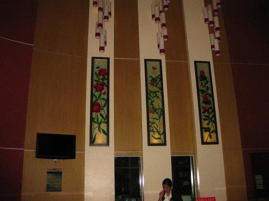Hotel Elizabeth Cebu: フロント