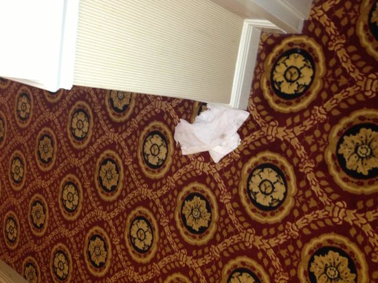 Crowne Plaza Executive Center Baton Rouge: Welcome to your room. We left some trash out for you.