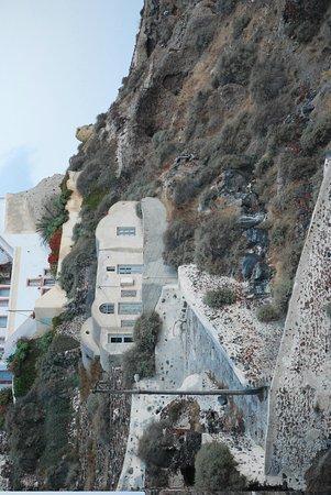 Esperas : View from porch toward Venetian Castle remains