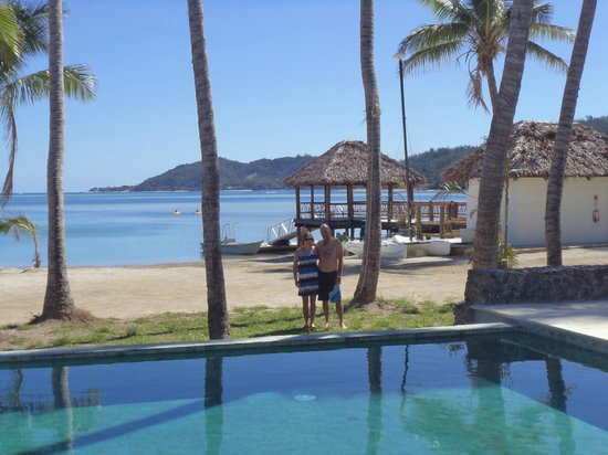 Tropica Island Resort: By pool facing jetty