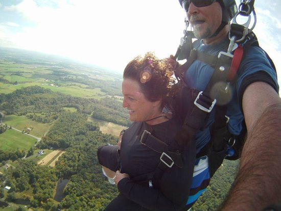 Saratoga Skydiving Adventures: WOW!