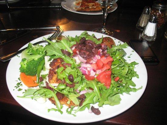Roxanne's: My Chicken Capricciossa dish