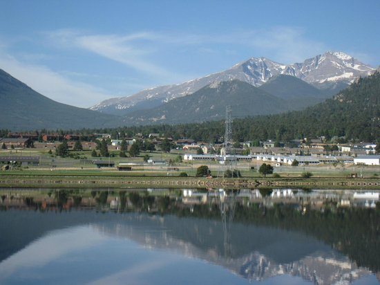 The Estes Park Resort: Morning view from room