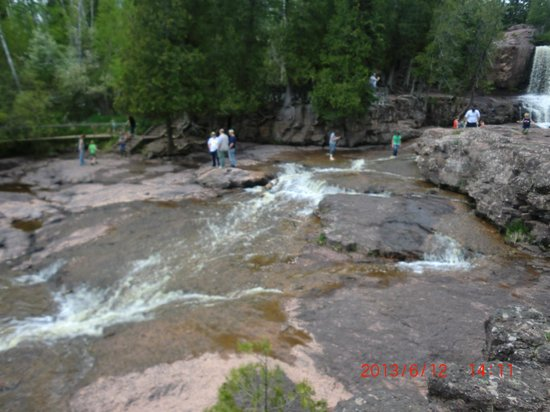 Gooseberry Falls State Park: A very popular State Park