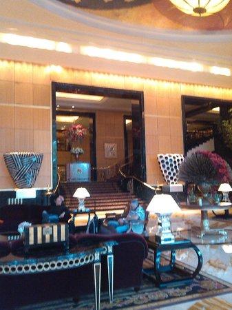 Hotel Mulia Senayan: grand terrace