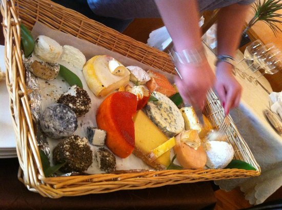 Auberge la Bartavelle : The cheese selection