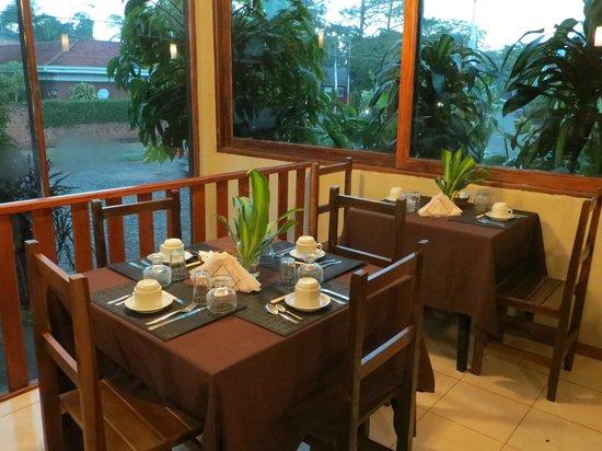 Yreta Hotel: Desayuno panorámico...