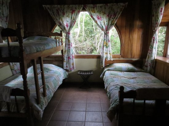 Cabinas Capulin: view of inside of cabin