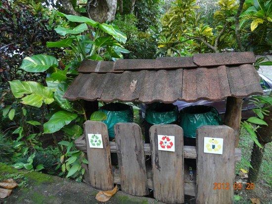Hotel Karahe: Recycling