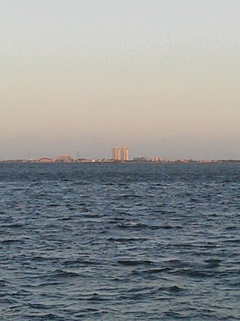 Texas City, TX: view from dike