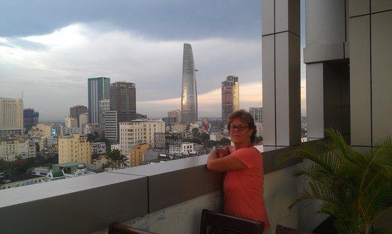 Golden Central Hotel: City skyline