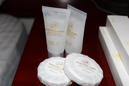 Allure Hotel & Suites: complimentary toiletries