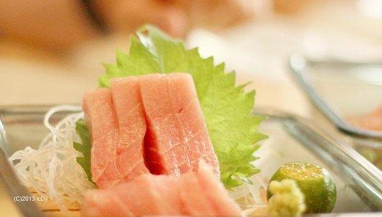 Tsukiji Japanese Restaurant: Tuna Sashimi