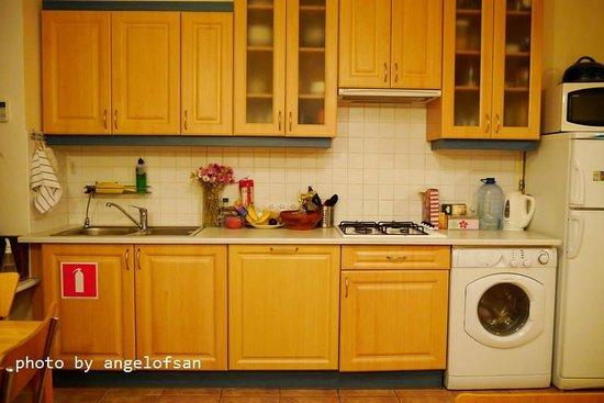 German B&B : Kitchen
