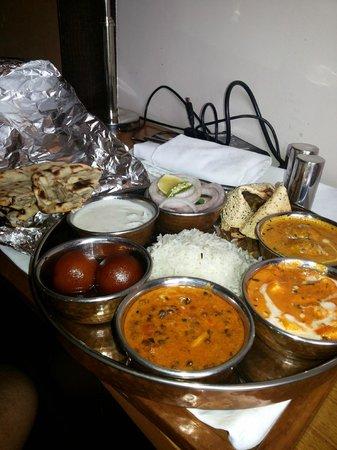 The Visaya: veg thali