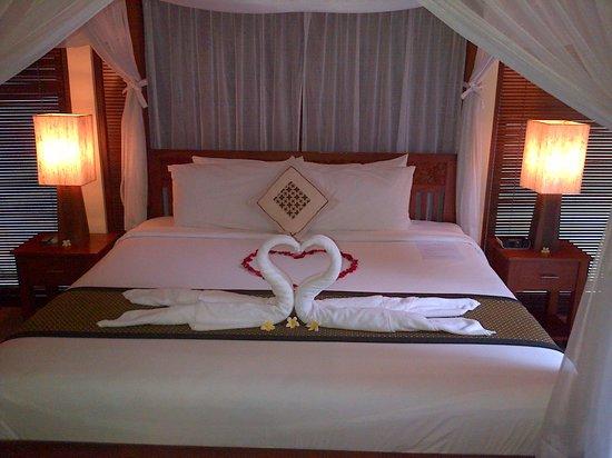 Balibaliku Beach Front Luxury Private Pool Villa: King Size bed