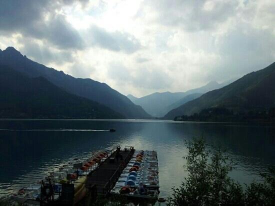 Lago di Ledro: veduta del lago